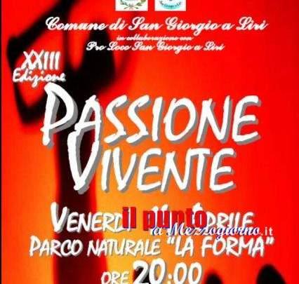 La Passione Vivente torna in scena a San Giorgio a Liri