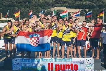Croazia e Spagna dominano nel beach handball a Gaeta