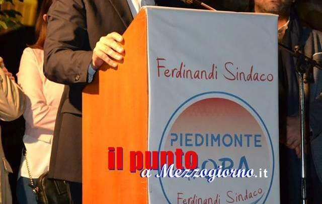 """Piedimonte al voto. Ferdinandi: """"Il nostro territorio non diventerà una pattumiera"""""""