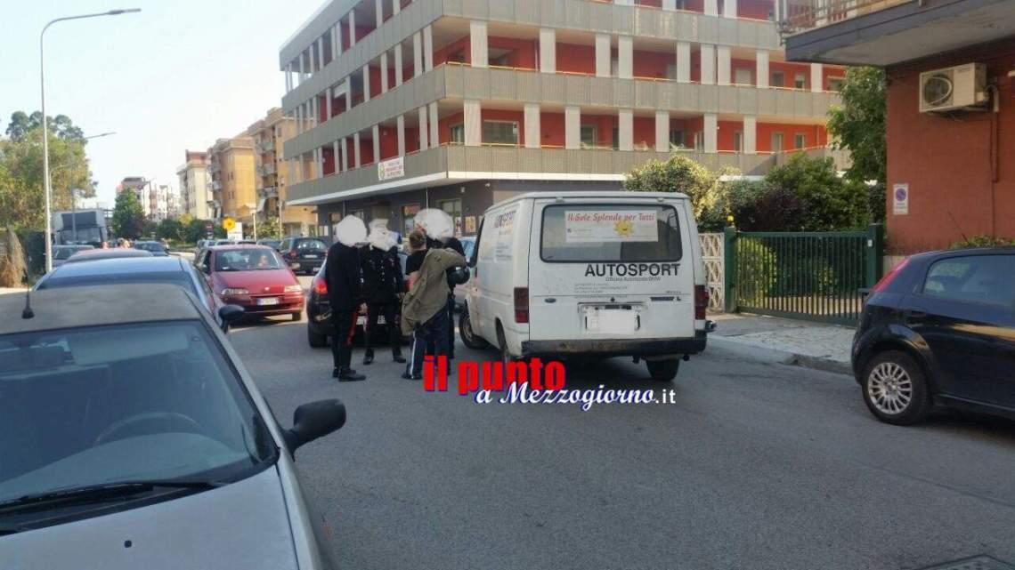 Rubano il furgone all'associazione di volontariato di Cassino, Della Corte lo ritrova e chiama i carabineri