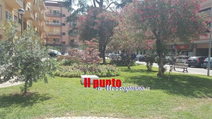 Riqualificato il giardino di piazza Toti, inaugurato dall'Amministrazione comunale