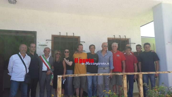 Pontecorvo: Taglio del nastro al parco di Monte Menola e intitolazione della casetta degli alberi al dottor Erio Moretta
