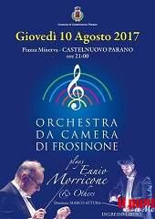 """Castelnuovo Parano, """"Morricone and Others"""" fra vicoli e piazze dell'antico Borgo"""