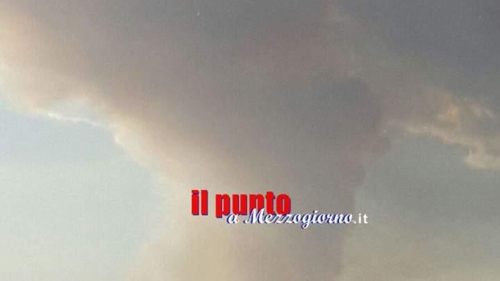 Incendi, da Piedimonte a Terelle brucia Monte Cairo