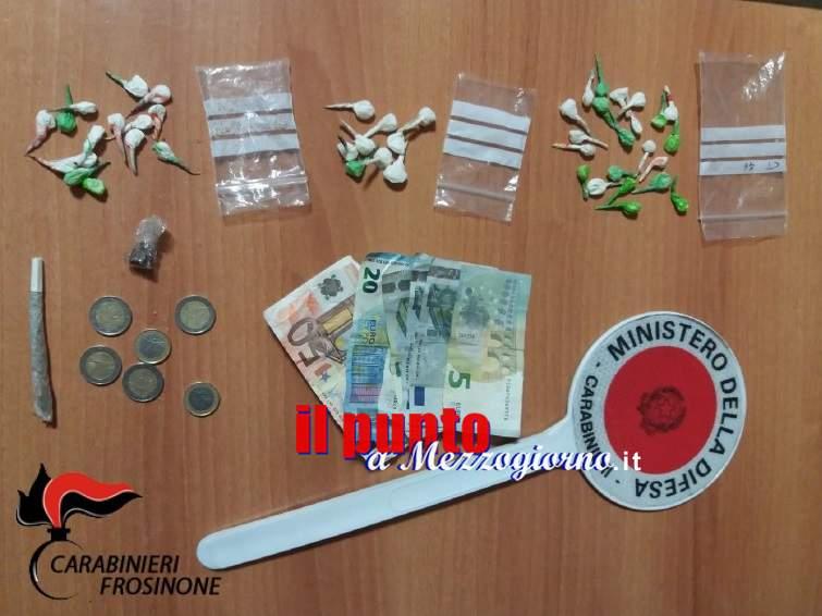 Frosinone: 33enne arrestato per detenzione e spaccio di cocaina e hashish