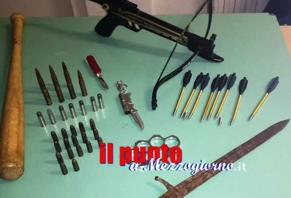 Deteneva illegalmente un arsenale di armi da guerra, arrestato dai Carabinieri un 40enne