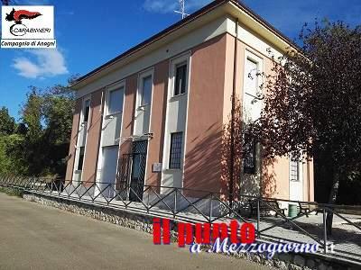 Cambia sede la stazione dei carabinieri di Piglio, per lavori di adeguamento sismico al vecchio edificio