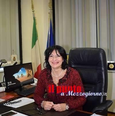 """La dott.ssa Amato, prima donna alla guida della Questura di Frosinone: """"Fare, saper fare e far sapere"""""""