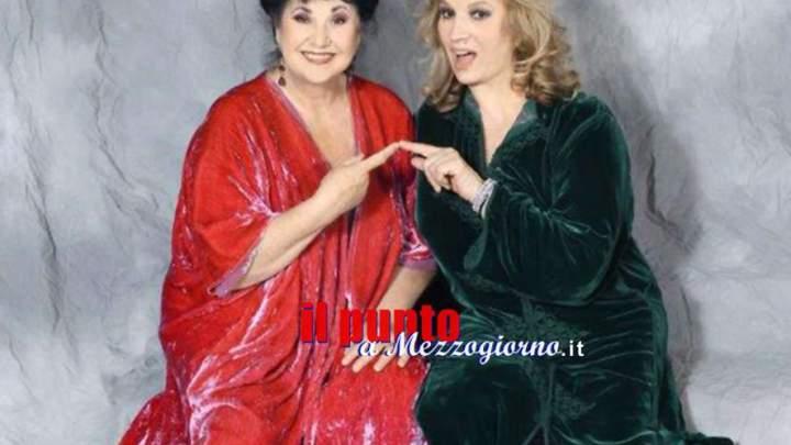 """Laurito e Zanicchi, """"Due donne in fuga"""" al teatro Ricciardi di Capua"""