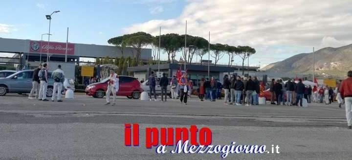 Nuovo stop all'Alfa Romeo di Piedimonte S. Germano, questa volta il fermo sarà di due mesi