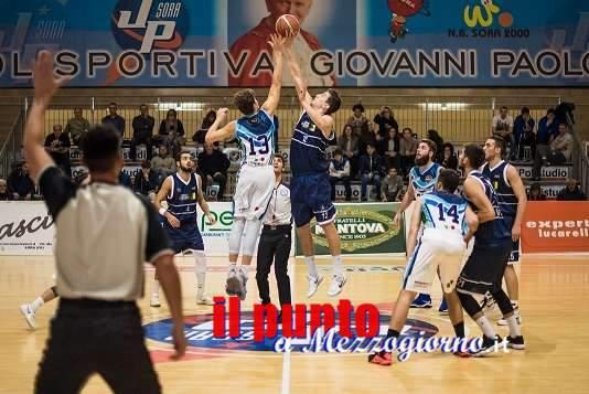 Basket serie C Gold: Sesta sconfitta per Sora contro la Stella Azzurra Viterbo