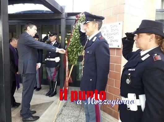 In Questura la commemorazione dei defunti della Polizia di Stato