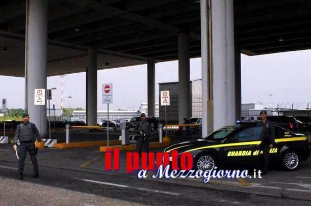 """Operazione """"Speed Goal"""" sequestrati sei chili di cocaina all'aeroporto di Fiumicino. Arrestati sei responsabili"""
