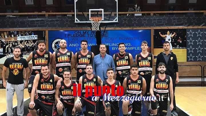 Basket C Silver: Pallacanestro Veroli, seconda vittoria consecutiva contro Bracciano