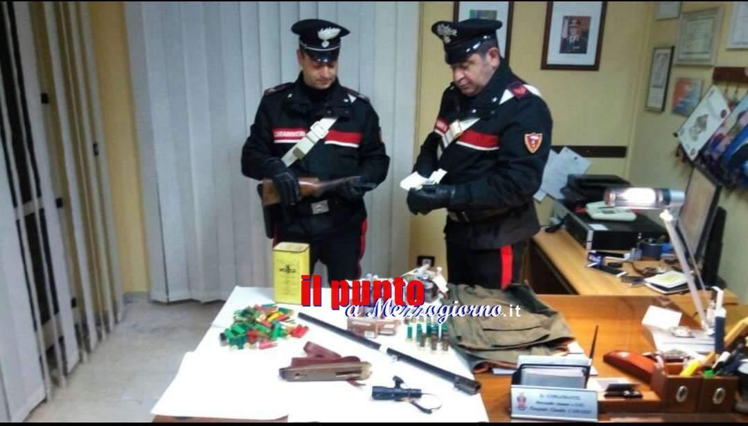 Sant'Elia Fiumerapido, Armi e munizioni: guai per un 68enne