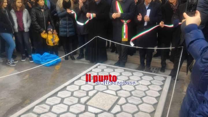 """Inaugurato il primo tratto de """"La strada di pietra per Montecassino"""""""