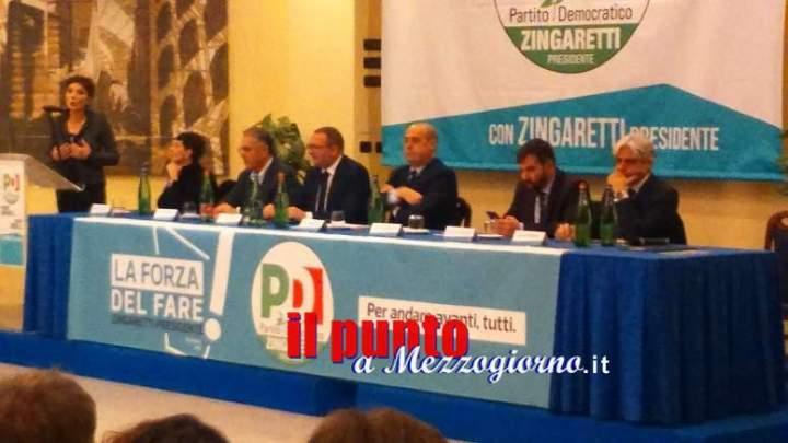 Regionali 2018: Via alla campagna elettorale per Fardelli e Caparrelli con Zingaretti e i big del Pd