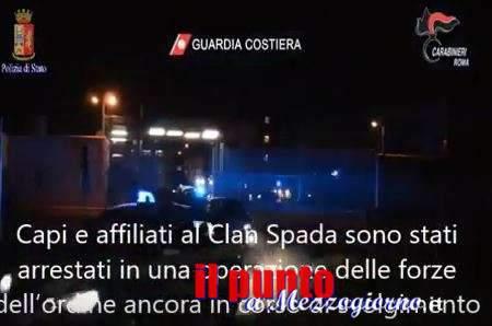 Clan Spada di Ostia, 34 arrestati tra cui anche l'aggressore del giornalista Rai – VIDEONOTIZIA