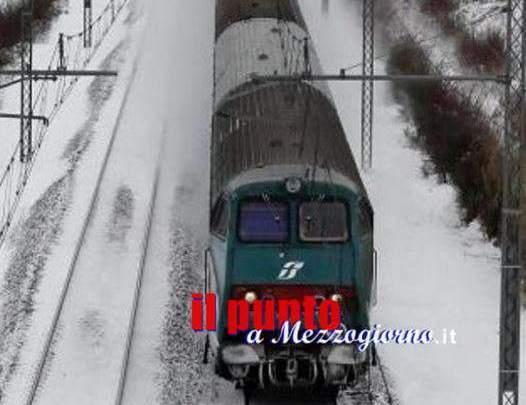 Grande freddo, nel Lazio Trenitalia rimodula il 70% delle corse