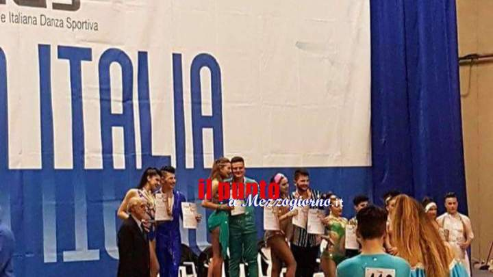 Tappa Coppa Italia, Podio per gli allievi della Cassino Dance