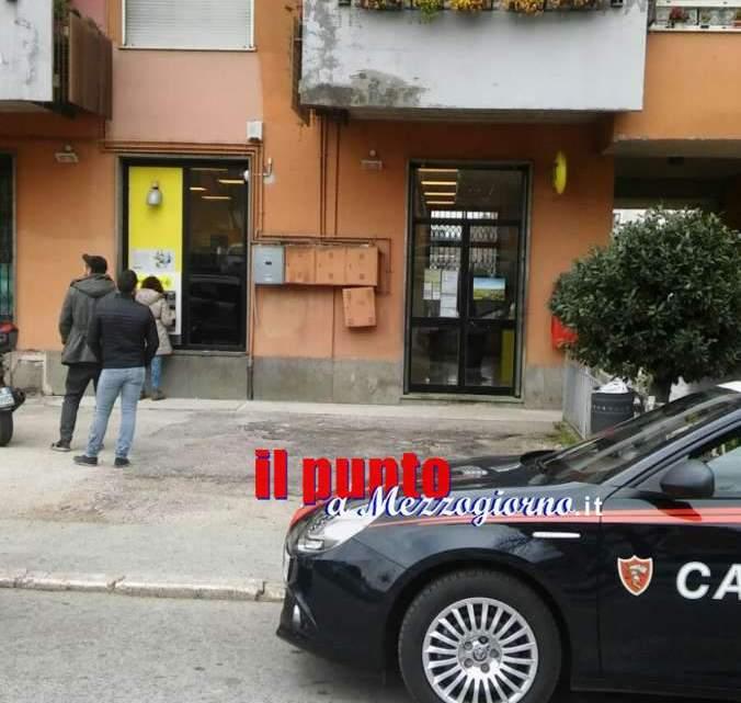 Cassino, allarme bomba all'ufficio postale del Colosseo