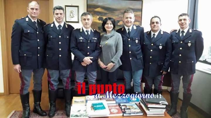 """I complimenti del Questore agli agenti della stradale per l'arresto di """"San Valentino"""""""