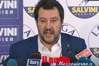 """Dopo voto, Matteo Salvini: """"La Lega ha vinto nel centrodestra e rimarrà alla guida del centrodestra"""""""