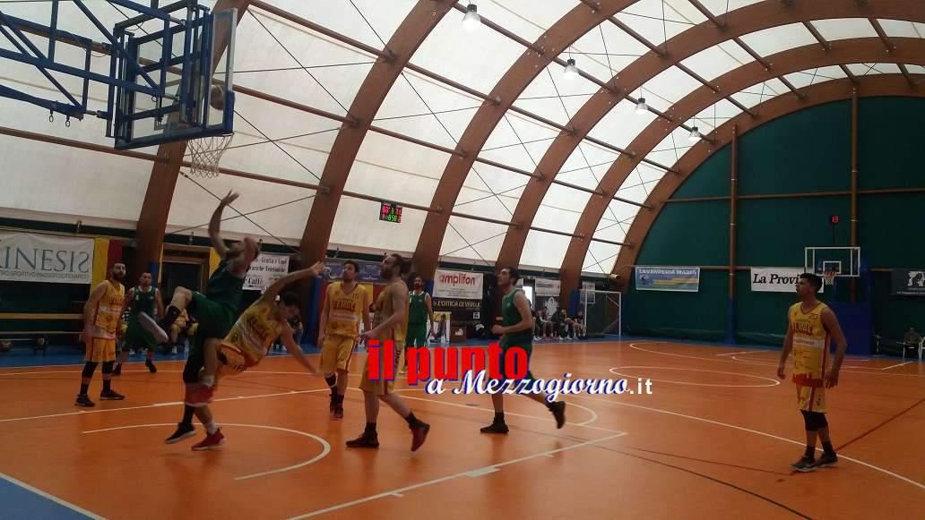 Basket C/Silver: Veroli battuta dalle Stelle Marine