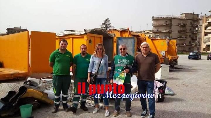 """Domenica 13 maggio """"Terza giornata ecologica"""" in campo Miranda"""