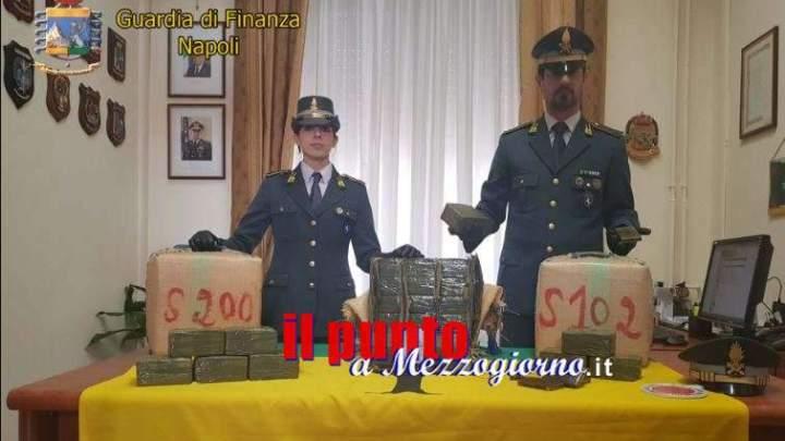 Otto tonnellate di hashish sequestrate a Napoli, carico ha valore di 80 milioni