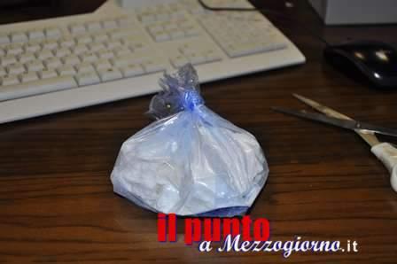 Sorpreso a Frosinone con 1 chilo di cocaina, arrestato corriere romano