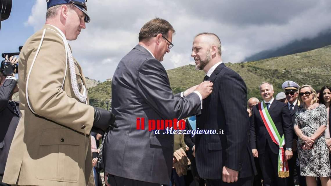 Medaglia Pro Patria polacca a chi si batte per ricordare: insigniti Parravano e Cappelli