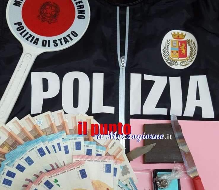 Spacciatore incallito a Cassino, continua a vendere droga anche ai domiciliari