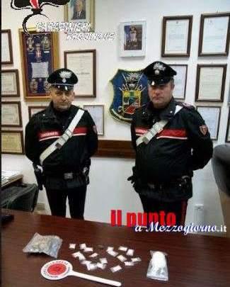 Droga a Frosinone, due stranieri arrestati in poche ore