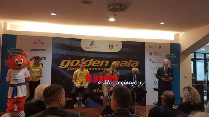 Golden Gala Pietro Mennea, in tribuna d'onore i prodotti ciociari e pontini
