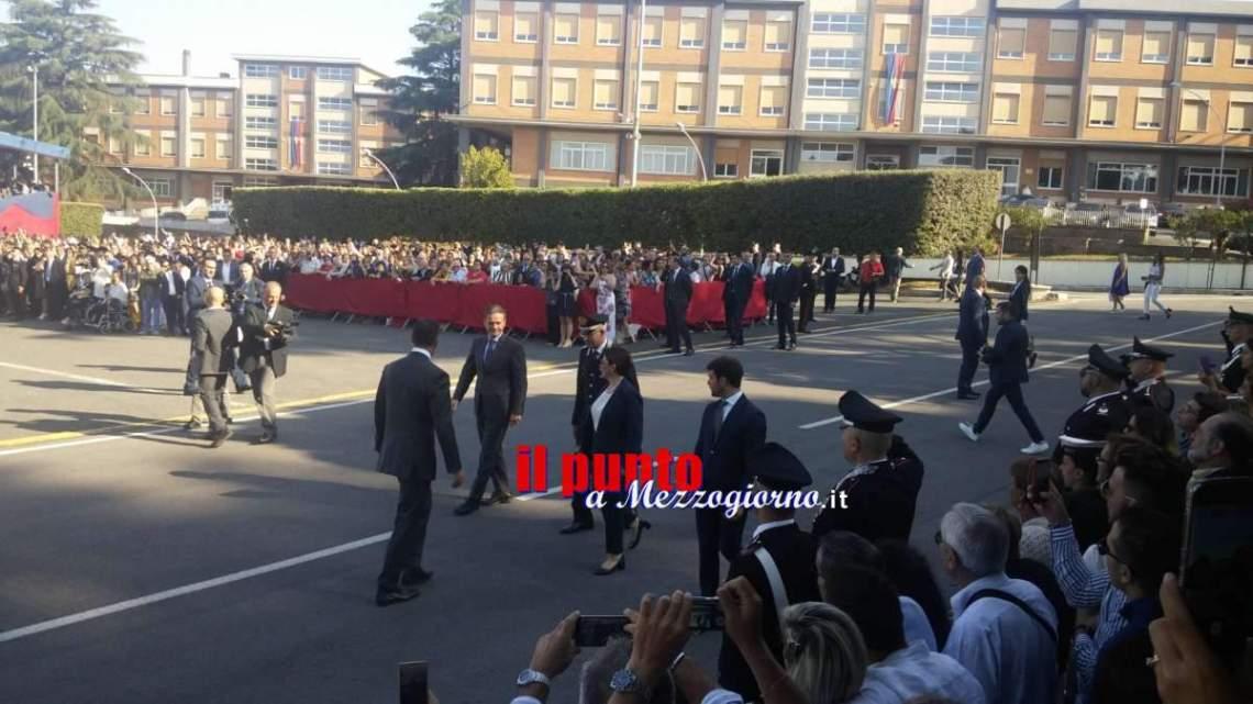 VIDEO – A Velletri 725 Allievi carabinieri giurano fedeltà alla Patria davanti al ministro della Difesa Trenta