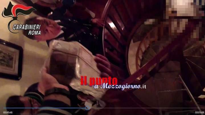 Famiglia di usurai arrestata a Velletri, ecco (VIDEO) dove nascondevano i soldi
