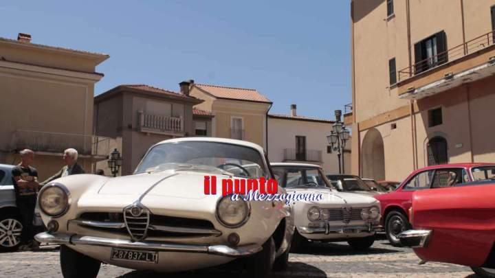 Da Cassino alle Mainarde la terza edizione del raduno Alfa Romeo