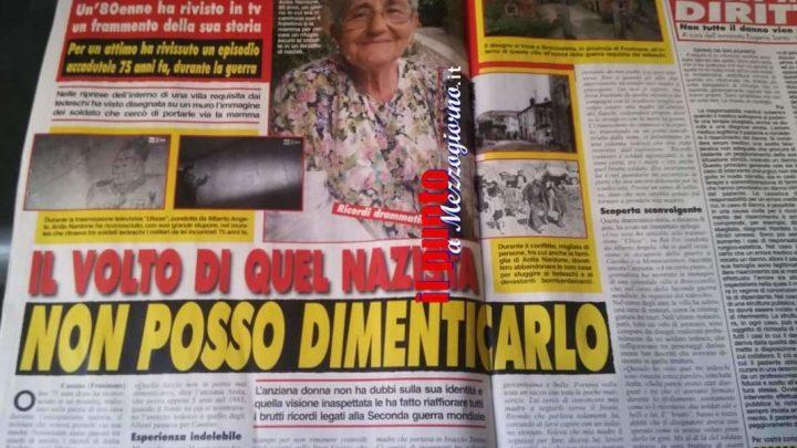 Riconosce il soldato nazista dopo 75 anni, la storia di Anita sulle pagine di Cronaca Vera