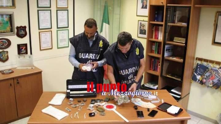 Sorpreso con 625 grammi di marijuana, arrestato a Fondi giovane di Terracina