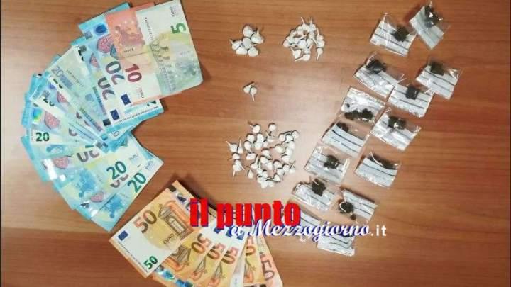 Spacciatore di Veroli arrestato grazie alla confessione di un cliente, sequestrato un etto di droga