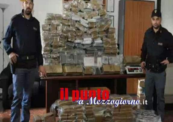 Montagna di hashish sequestrata ad Ostia, arrestati due romani