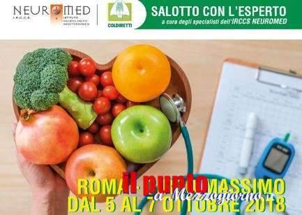 Alimentazione e salute al Circo Massimo di Roma, Neuromed nel Villaggio Coldiretti