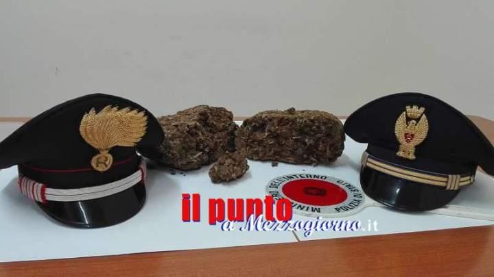 Sorpresa in stazione a Cassino con un chilo di droga, arrestata 22enne nigeriana