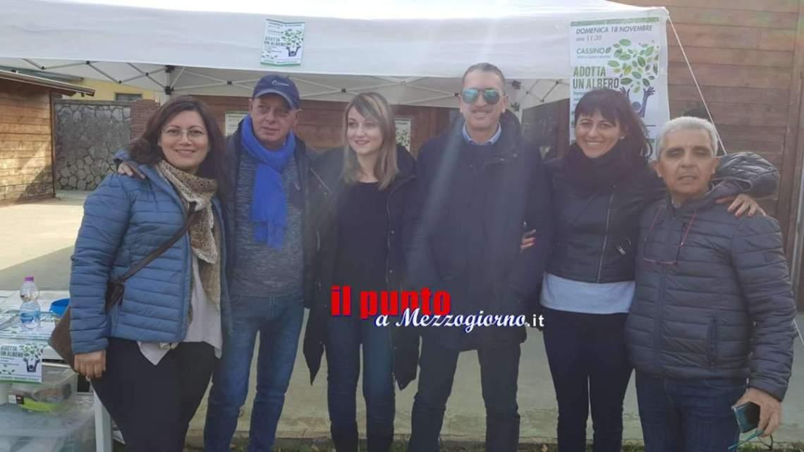 """""""Adotta un albero"""" a Cassino, M5S: partecipa all'iniziativa ambientalista"""