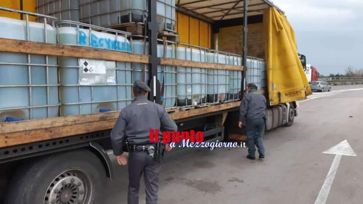 Contrabbandiere di gasolio sulla Pontina, sequestrati 28mila litri di carburante