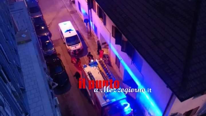 Boato in via Borsi a Cassino, delinquenti fanno esplodere petardo e terrorizzano anziana