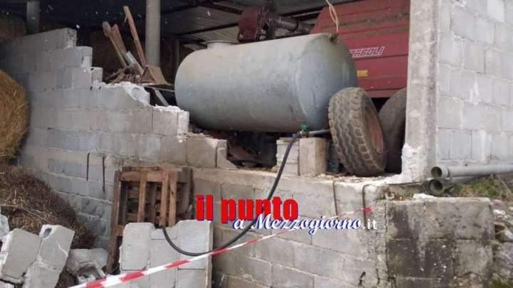 Crolla un muro e travolge pastori ad Alvito, due morti e due feriti