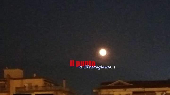 La super luna visibile anche nel cielo di Cassino