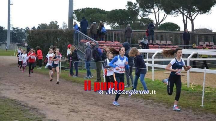 Cus-Cassino; doppio successo nelle gare di cross e marcia dei ragazzi del Cus